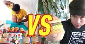 CHEAT MEAL: Nível Olímpico. 8280 calorias do McDonalds