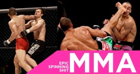 MMA: Epic Spinning Shit!