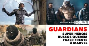 GUARDIANS: Super Herois Russos Fazem Frente à Marvel