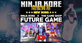NINJA KORE: Banda Tuga Rasga na Ásia com FUTURE GAME