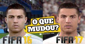FIFA 16 vs FIFA 17: Comparação Gráfica mostra Melhorias Significativas
