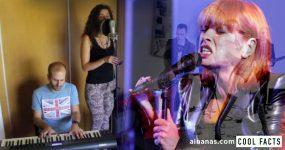Uma voz e um piano combinam-se para cover maravilhoso de ROSA SANGUE dos Amor Electro
