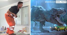 Dude faz a MELHOR imitação de um T-Rex de Sempre