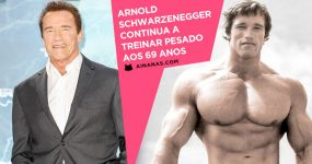 Aos 69 Anos, Arnold Schwarzenegger Continua a TREINAR PESADO