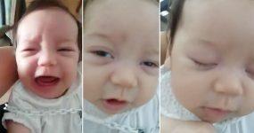 Bebé de 2 meses só se Acalma com a Mãe a Cantar