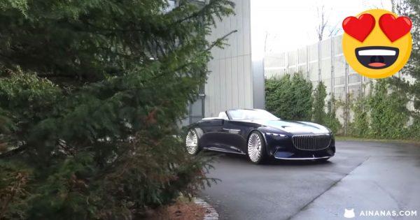 SUPERCAR BLONDIE experimenta o incrível Vision Mercedes-Maybach 6