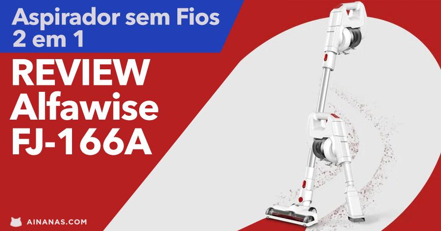 Aspirador sem Fios Alfawise FJ – 166A REVIEW