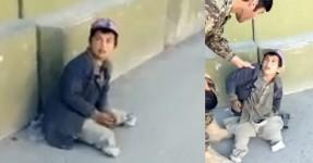 Soldado Estraga o Dia a Puto Mendigo