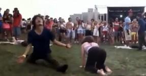 Kung Fu dos Fritos em Pleno Festival