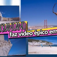 Jovem Ucraniano Filma Video Viral em Portugal