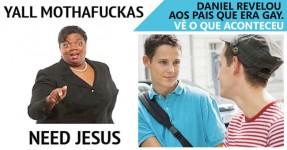 Mãe Religiosa Reage a Filho Gay