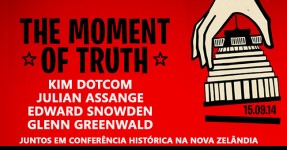 THE MOMENT OF TRUTH: Kim Dotcom, Snowden, Assange Falam!