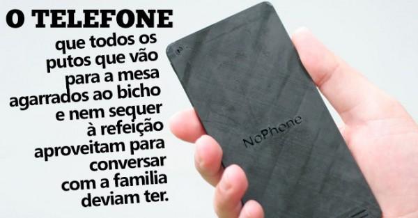 NoPhone: O Telemóvel Mais Inútil do Mundo