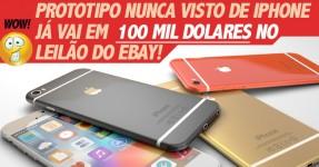 Protótipo de iPhone à Venda por 80 mil euros no Ebay!!