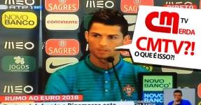 """Ronaldo Caga na Cabeça de """"Jornalista"""" da CMTV"""