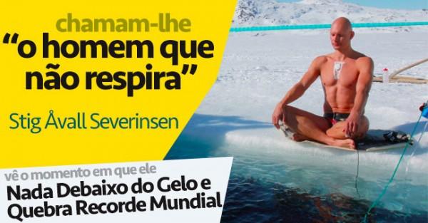 Nada Debaixo do Gelo e Quebra Recorde Mundial
