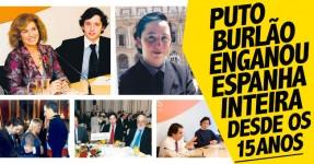 Puto Burlão Enganou Espanha Desde os 15 Anos