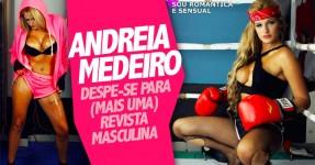Andreia Medeiro Despe-se Para a Men's Stuff