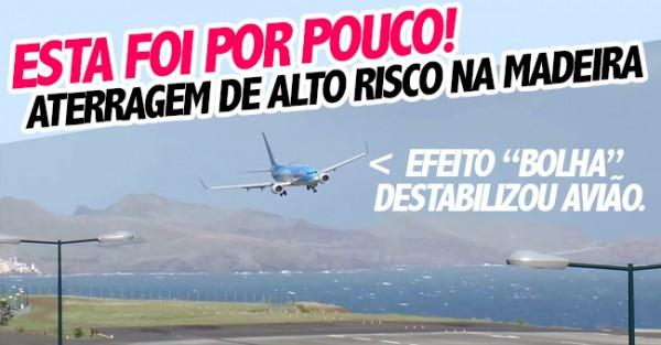 Piloto Salva Aterragem Complicada com Muita Skill (Madeira)