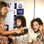 GÉMEOS LOUCOS: entrevistados na esquadra