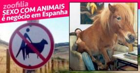 SEXO COM ANIMAIS é negócio em Espanha