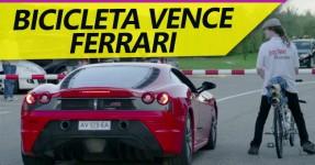 Bicicleta Atinge os 333 KM/h e Bate Ferrari