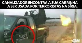 Terroristas Sírios na Carrinha de um Canalizador do Texas