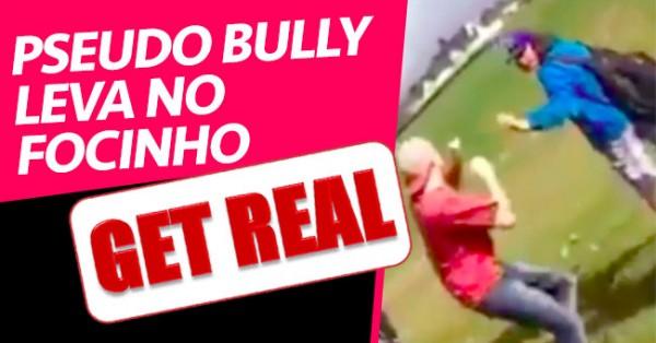 Bully Mauzão Leva no Focinho para não ser Estúpido