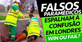 Falsos Paramédicos Geram Confusão em Londres