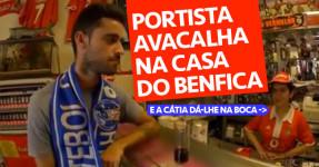 Portista Avacalha na Casa do Benfica