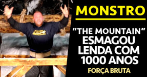 """MONSTRO: """"Montanha"""" Esmaga Recorde com 1000 Anos!"""