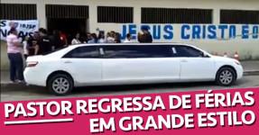 Pastor de Igreja Brasileira Regressa de Férias