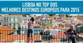 LISBOA é o Segundo Melhor Destino Europeu para 2015