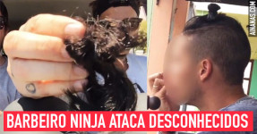 Barbeiro Ninja Ataca Desconhecidos [ STOP THE KNOT! ]