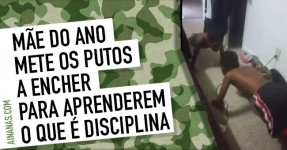 Mãe do Ano Disciplina Putos a Encher