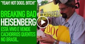 BREAKING BAD: Walter está Vivo no Brasil e Vende Cachorros