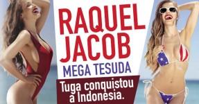 RAQUEL JACOB Fabulosamente Gostosa na FHM Indonesia