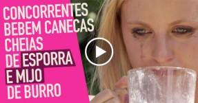 Bebem ESPERMA e MIJO de Burro em Desafio Nojento