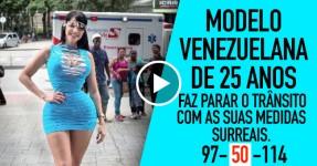 Venezuelana Pára o Trânsito com Medidas Surreais