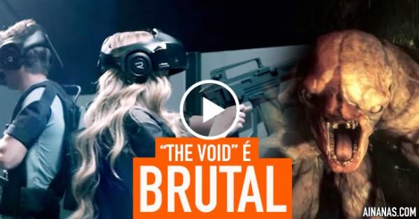 THE VOID: Espetacular Parque de Realidade Virtual