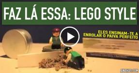 LEGO Ensina como Enrolar um Granda Canhão