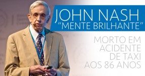 """John Nash: """"mente brilhante"""" Morre em Acidente de Taxi"""