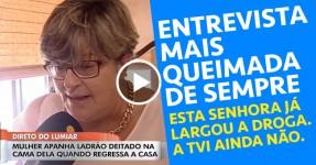 Entrevista MAIS QUEIMADA de Sempre: Direto TVI