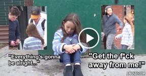 Criança Perdida Procura Ajuda e Quase Corre Mal