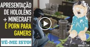Microsoft Revela Poder de Hololens + Minecraft