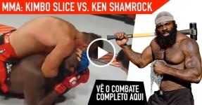 MMA: Kimbo Slice Vs. Ken Shamrock