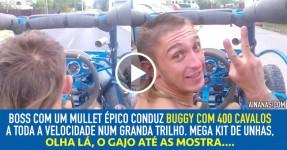 EPIC FUN: Dude diverte-se num buggy com 400 Cavalos