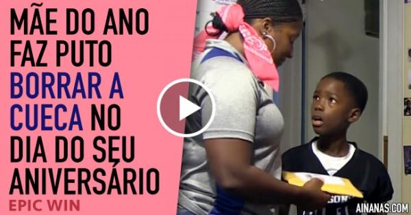 Mãe faz Puto Borrar a Cueca NO SEU ANIVERSÁRIO