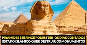 Estado Islâmico Pretende Destruir as Pirâmides do Egipto