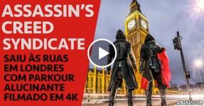 ALUCINANTE: Assassin's Creed em 4K nas Ruas de Londres